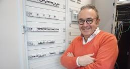 Gerard voor meterkast nieuwbouw Wouters Bouwmaterialen