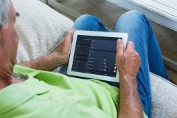 Domotica eenvoudige bediening op bijvoorbeeld een tablet